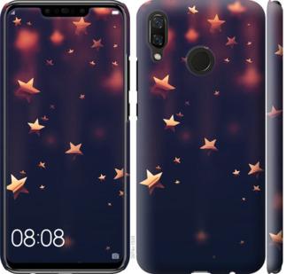 Чехол на Huawei Nova 3 Падающие звезды