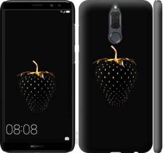 Чехол на Huawei Mate 10 Lite / Honor 9i Черная клубника