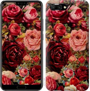 Чехол на Huawei Honor 10 Цветущие розы