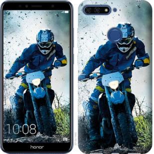 Чехол на Huawei Honor 7A Pro Мотокросс