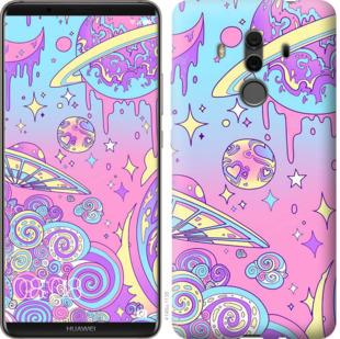Чехол на Huawei Mate 10 Pro Розовая галактика