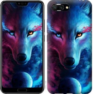 Чехол на Huawei Honor 10 Арт-волк