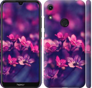 Чехол на Huawei Honor 8A Пурпурные цветы