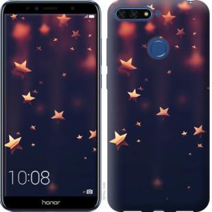 Чехол на Huawei Honor 7A Pro Падающие звезды