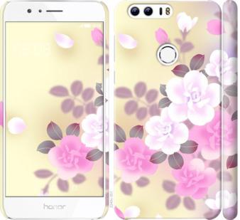 Чехол на Huawei Honor 8 Японские цветы