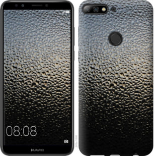 Чехол на Huawei Y7 Prime 2018 Мокрое стекло