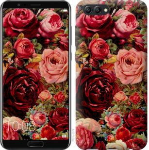 Чехол на Huawei Honor V10 / View 10 Цветущие розы