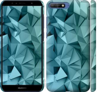 Чехол на Huawei Y6 2018 Геометрический узор v2