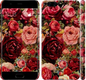 Чехол на Huawei P10 Цветущие розы