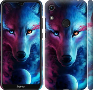 Чехол на Huawei Honor 8A Арт-волк
