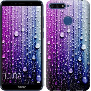Чехол на Huawei Honor 7A Pro Капли воды