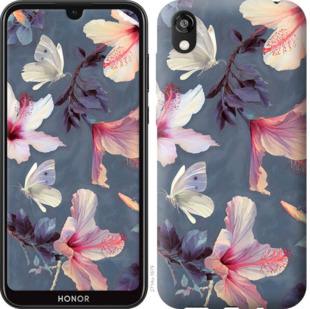 Чехол на Huawei Honor 8S Нарисованные цветы