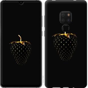 Чехол на Huawei Mate 20 Черная клубника