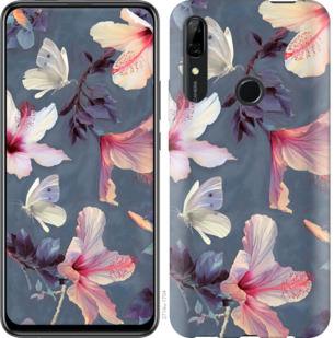 Чехол на Huawei P Smart Z Нарисованные цветы