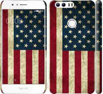 Чехол на Huawei Honor 8 Флаг США