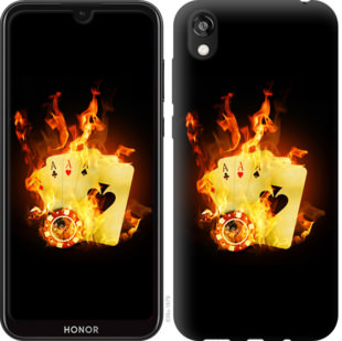 Чехол на Huawei Honor 8S Горящие карты