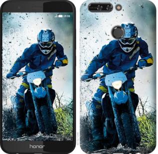 Чехол на Huawei Honor V9 / Honor 8 Pro Мотокросс
