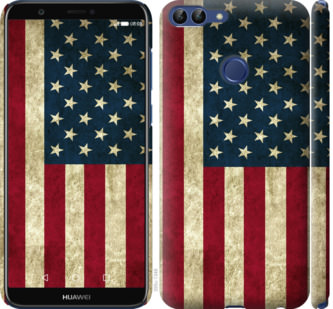 Чехол на Huawei P Smart Флаг США
