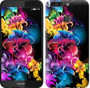 Чехол на Huawei Honor V9 / Honor 8 Pro Абстрактные цветы