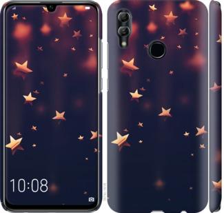 Чехол на Huawei Honor 10 Lite Падающие звезды
