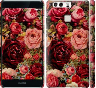 Чехол на Huawei P9 Цветущие розы