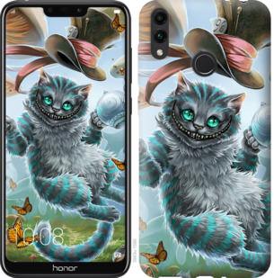 Чехол на Huawei Honor 8C Чеширский кот 2