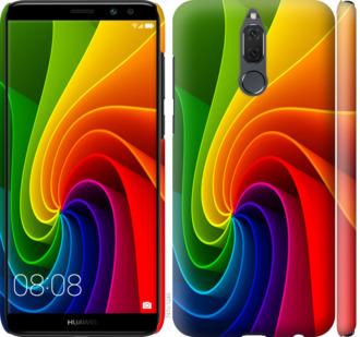 Чехол на Huawei Mate 10 Lite / Honor 9i Радужный вихрь