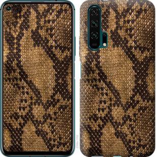 Чехол на Huawei Honor 20 Pro Змеиная кожа