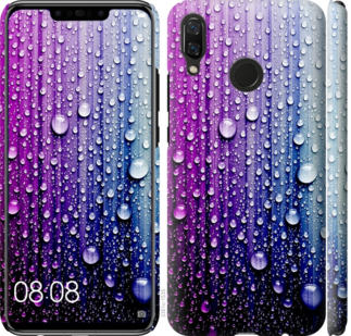 Чехол на Huawei Nova 3 Капли воды