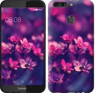 Чехол на Huawei Honor V9 / Honor 8 Pro Пурпурные цветы
