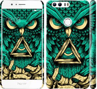Чехол на Huawei Honor 8 Сова Арт-тату