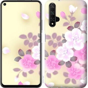 Чехол на Huawei Honor 20 Японские цветы