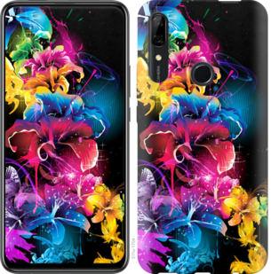 Чехол на Huawei P Smart Z Абстрактные цветы