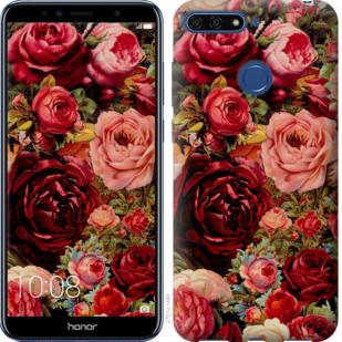 Чехол на Huawei Honor 7A Pro Цветущие розы