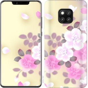 Чехол на Huawei Mate 20 Pro Японские цветы