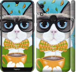 Чехол на Huawei Honor 8A CatandCoffee