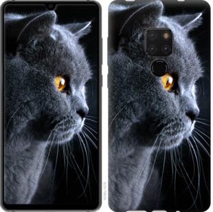 Чехол на Huawei Mate 20 Красивый кот