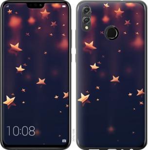 Чехол на Huawei Honor 8X Падающие звезды
