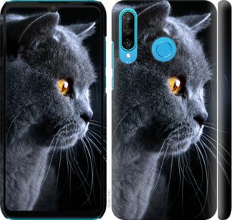 Чехол на Huawei P30 Lite Красивый кот