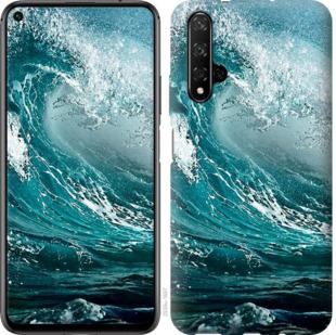 Чехол на Huawei Honor 20 Морская волна