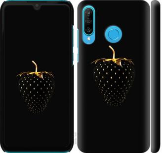 Чехол на Huawei P30 Lite Черная клубника