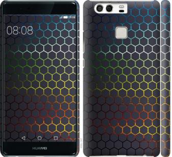 Чехол на Huawei P9 Переливающиеся соты