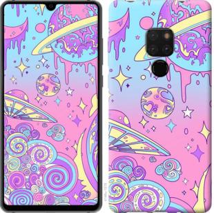 Чехол на Huawei Mate 20 Розовая галактика