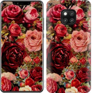 Чехол на Huawei Mate 20 Pro Цветущие розы