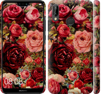 Чехол на Huawei P20 Lite Цветущие розы