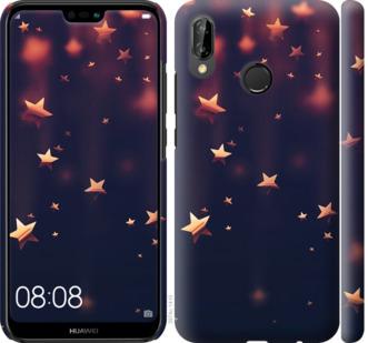 Чехол на Huawei P20 Lite Падающие звезды