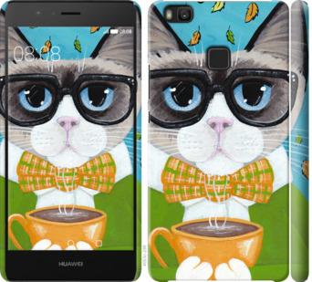 Чехол на Huawei P9 Lite CatandCoffee