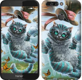 Чехол на Huawei Honor V9 / Honor 8 Pro Чеширский кот 2