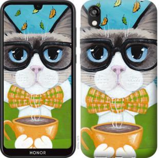 Чехол на Huawei Honor 8S CatandCoffee