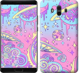 Чехол на Huawei Mate 10 Розовая галактика